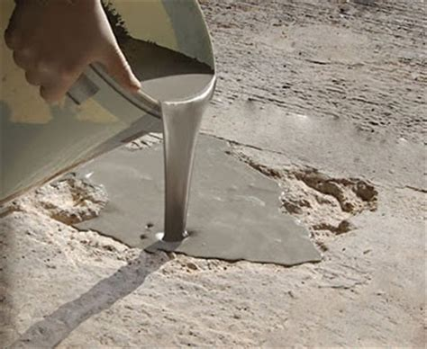 flowpatch 174 self leveling concrete patch repair for