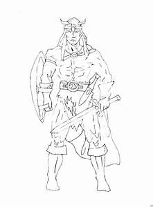 Thor Ausmalbild Malvorlage Phantasie