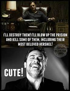 ...Im scairt,ve... Funny Negan Quotes