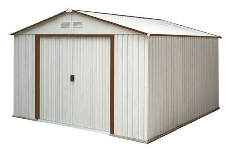Lifetime 10x8 Shed Assembly by Duramax 50511 50512 50531 50534 10x8 Mar Metal Shed
