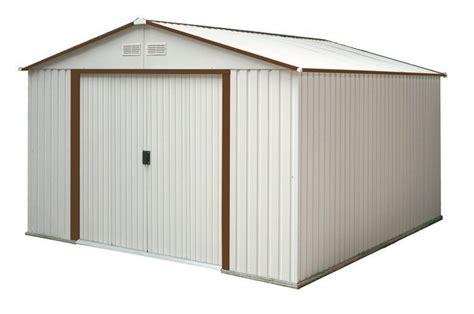 duramax 50511 50512 50531 50534 10x8 del mar metal shed