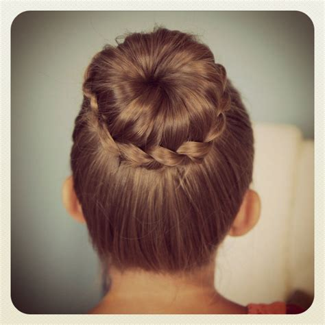 flower girl french braid hairstyles lace braided bun