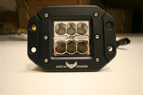 Wiring Harnes Andrew Amanda 2x18w led work driving light 8 deg spot flush mount
