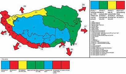 Tibet Survey Map Optimal Borders Alternatehistory Turn