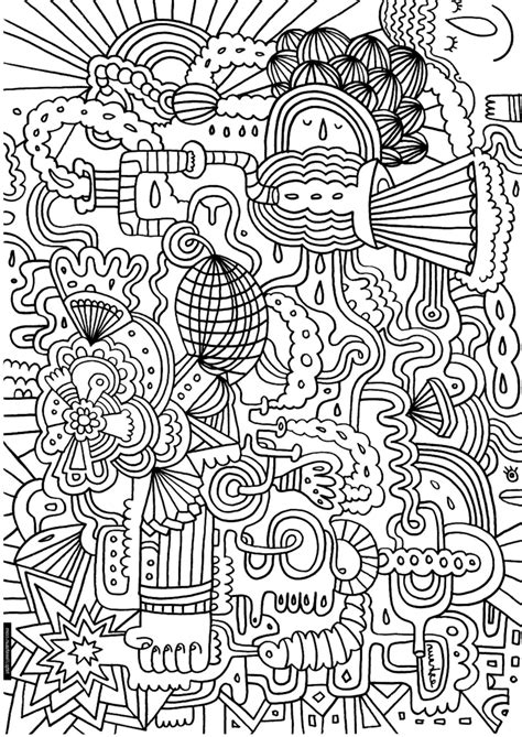 Print & Download Complex Coloring Pages for Kids and Adults