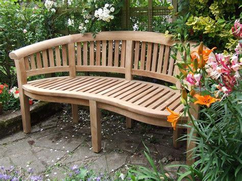 patio furniture on sale curved teak garden bench bali