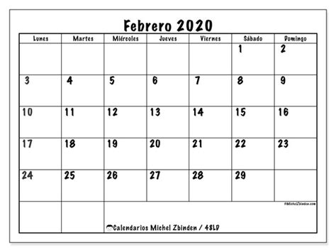 calendario febrero ld michel zbinden es