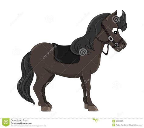 Horse Cartoon Stock Illustration - Image: 48935087