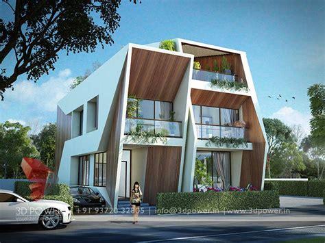 3d Bungalow Elevation Design