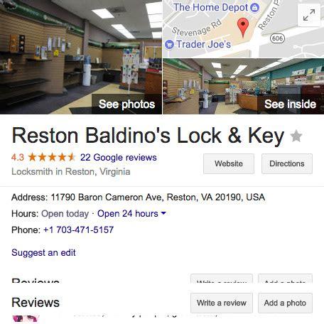 locksmith reston va baldinos lock key