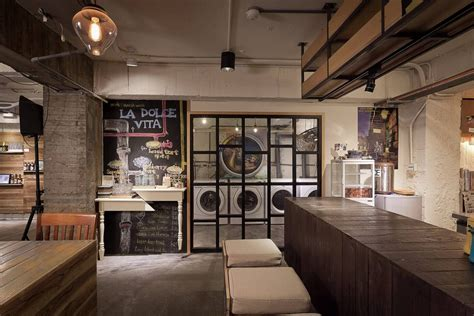 Hagiwara Shop By Design laundry coffee shop woodz