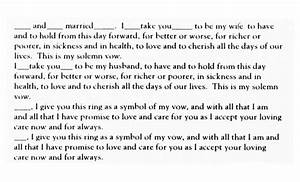 traditional english vow text wedding vows pinterest With traditional wedding ring vows