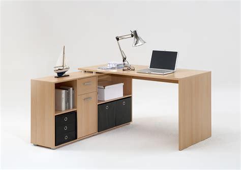 bureau angles bureau d 39 angle réversible contemporain coloris hêtre phénicia bureau bureau