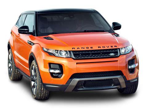 Land Rover Car : Orange Land Rover Range Rover Car Png Image