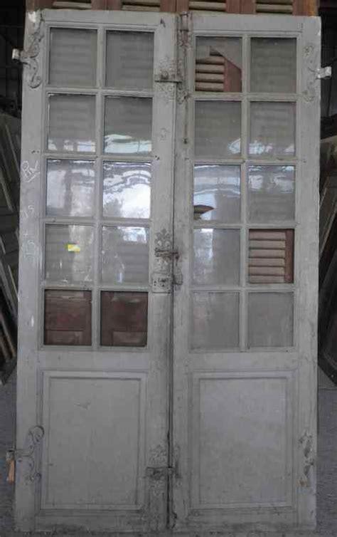 c2va7 porte d interieur 2 vantaux vitree