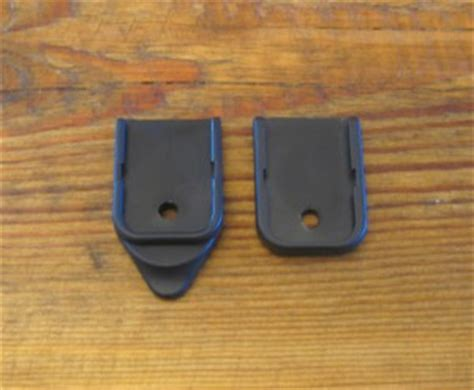 Glock Floor Plate Blue by Gap Enterprises Glock Finger Rest Extension Review