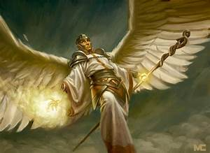 Mage Angel by capprotti on DeviantArt