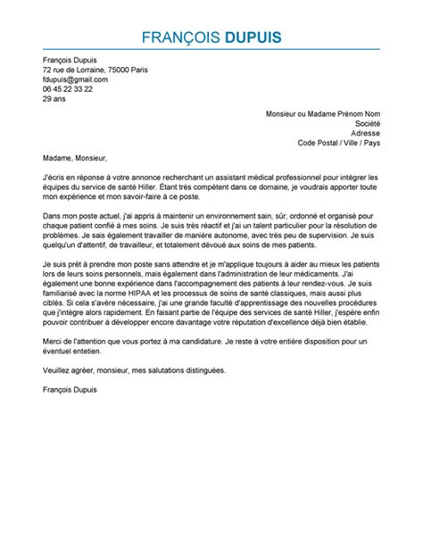 lettre de motivation assistant m 233 dical exemple lettre de motivation assistant m 233 dical livecareer