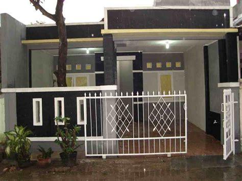 model pagar rumah minimalis type  eksterior rumah
