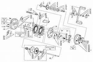 Abu Garcia 6500 C3 Parts List And Diagram
