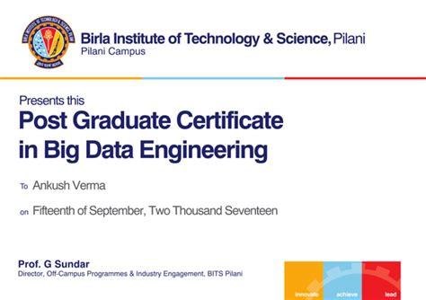 big data  certification  bits pilani