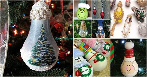 insanely easy christmas light bulb decorations
