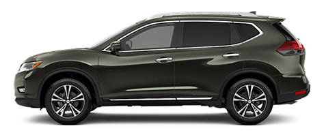 What Color Options Are Available For The 2017 Nissan Rogue