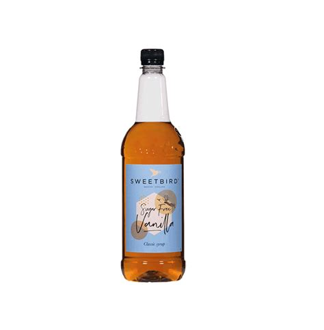 Although coffee adders are developed for coffee, they certainly works perfectly with cocktails and other drinks, like hot chocolate, tea, milk, yoghurt and they are excellent to flavour cake and other kinds of pastry. Sweetbird Sugar Free Vanilla Syrup - 1 Litre - Shop Coffee