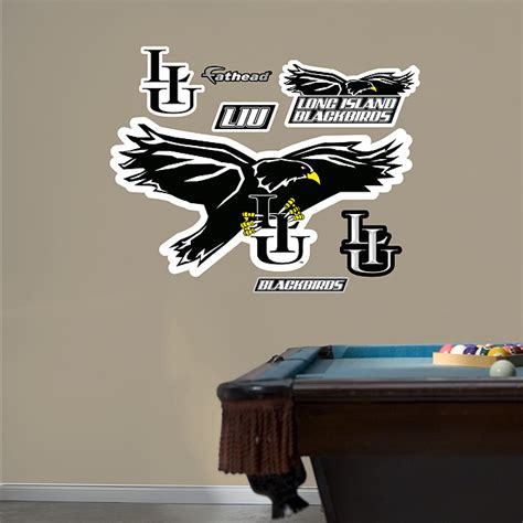 pool table stores on long island liu blackbirds logo wall decal shop fathead for long