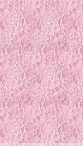 Pink Lace iPhone Wallpaper