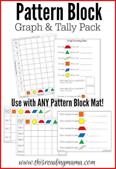pattern block worksheets 1st grade worksheets for all