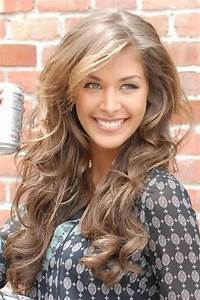 Light Brown Hair Color With Caramel Highlights In 2016