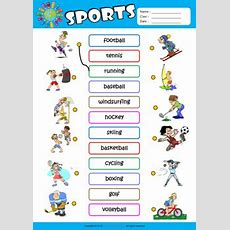 English Is Fun! Sports Vocabulary