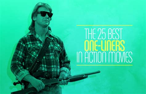 The 25 Best Oneliners In Action Movies  Complex