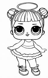 Lol Doll Coloring Pages Heartbreaker Colouring Printable Siobhan Dolls Series Lids Duff Posted Am sketch template