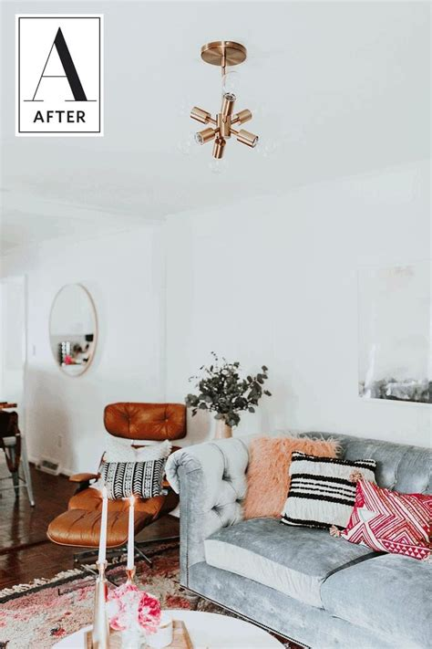 Dramatic And After Living Rooms by 25 Best Ideas About Living Room Makeovers On