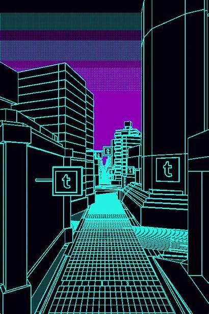 Kidmograph Tmblr Gifs Giphy Cty Animated Neon