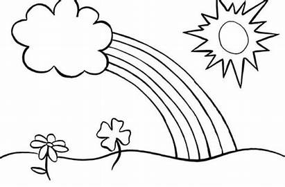 Coloring Pages Rainbow Printable Brite Rainbows Sheets