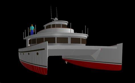 Catamaran Hull Design by Benadi Composite Catamaran Plans