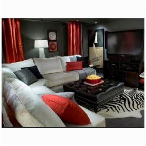red black and gray living room living room pinterest