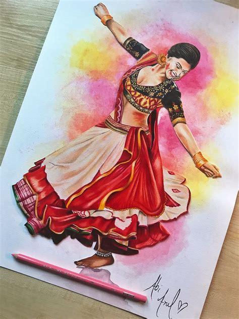 deepika padukone ram leela drawing prismacolors colouring