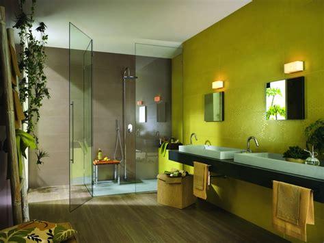 indogate salle de bain verte et beige
