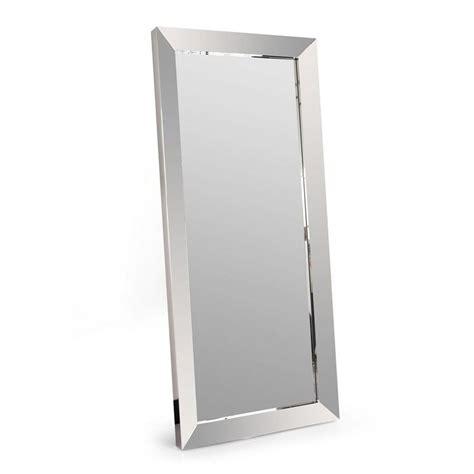 bureau 120 cm miroir design en inox
