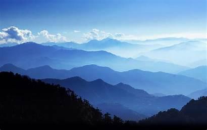 Meditation Ridge Mountain Mountains Parkway Wallpapers Relaxation
