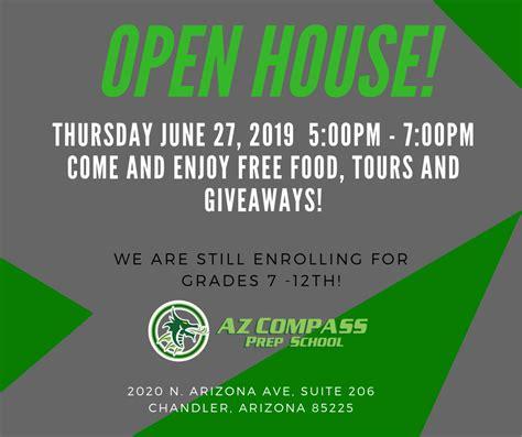 open house az compass prep schools