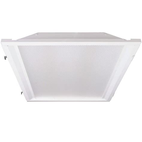 led ls for fluorescent fixtures eco lighting by dsi 2 ft x 2 ft white retrofit recessed