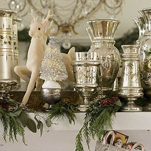 Holiday Decorating with Mercury Glass