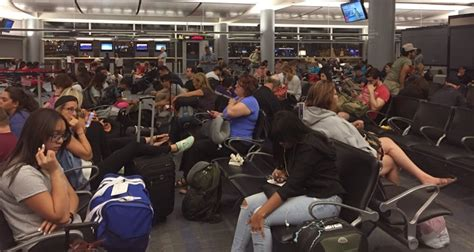 delta air lines power outage  delays cancellations