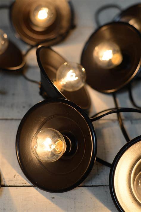black light string lights cafe string lights metal black 10ct