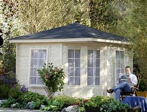 Holz Pavillon Bausatz : 5 eck gartenhaus 299x299cm holzhaus bausatz doppelt r 40mm st rke gartenlaube vom garten ~ Frokenaadalensverden.com Haus und Dekorationen